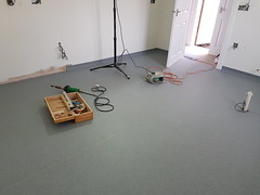 Treatment room with coving
