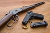 Rossi and Imbel (Pedro Paulo Faganello T. dos Anjos) Tags: rossi puma pistola rifle imbel