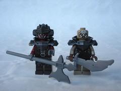 72002 - Ork tests (fdsm0376) Tags: mordor lotr lego nexo knights review set