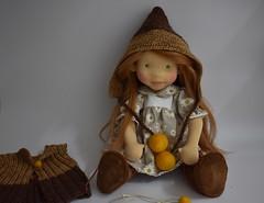 "Clarissa 17"" doll by Dearlittledoll (Dearlittledoll) Tags: waldorf waldorfdoll waldorfdoll18inch steinerdoll slowdoll slowdollmaking dollmaker dearlittledoll dollcollecting fiberart geschenke handmade jointeddoll organicdoll naturaldoll"