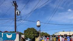 Los Algodones (lucico) Tags: 2011 bajacalifornia méxico losalgodones sign advertising cable pole market day daylight vicenteguerrero