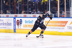 "Kansas City Mavericks vs. Toledo Walleye, January 20, 2018, Silverstein Eye Centers Arena, Independence, Missouri.  Photo: © John Howe / Howe Creative Photography, all rights reserved 2018. • <a style=""font-size:0.8em;"" href=""http://www.flickr.com/photos/134016632@N02/25966340528/"" target=""_blank"">View on Flickr</a>"