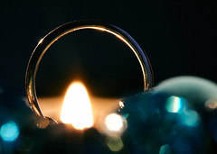 The Ring of Ice and Fire... (GlebLv) Tags: flame macromondays macro icefire ring sony a6000 sel50f18