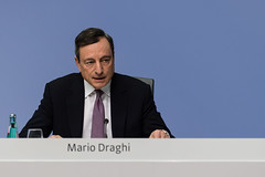 ECB Press Conference - 25 January 2018 (European Central Bank) Tags: 01 2018 ecb ecbmainbuiding europeancentralbank frankfurtammain germany governingcouncilpressconference january mariodraghi pressconferenceroom