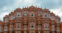 Hawa Mahal (Wind Palace) in Jaipur, India (phuong.sg@gmail.com) Tags: ancient arch architecture asia brick castle cultural culture day delhi dome door educational empire famous fort fortress hawa hinduism india indian islam jaipur landmark mahal marble monument mughal national nations old organization palace pradesh red safety sandstone security structure tourism tower town united uttar walls wind