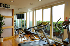 Fitness centre (A. Wee) Tags: milano lombardia italy it milan 米兰 意大利 crowneplaza hotel 酒店 皇冠假日 fitness centre 健身房