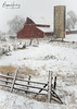 Winter on the High Plains - Larimer County, Colorado (www.rootsstudiophoto.com) Tags: winterscene redbarn highplains frontrange larimercounty farm agriculture ranch barn silo snow winterstorm coloradophotography farmphotography