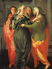 The Visitation (skaradogan) Tags: ellisarthistory jacopodapontormo italian pontormo 16thcentury fresco stmichele carmignano tuscany mannerism bright women religious red orange green halo