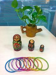 Office (Faruk Hossain Topu) Tags: office moneyplant doll corporate bankasia bank worldbank plant tree natural desk bonshai bonsai ikebana handicraft quilling embroidery art fashion amigurumi