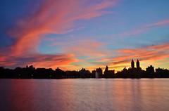 Central Park, 07.02.16 (gigi_nyc) Tags: centralpark nyc newyorkcity thereservoir sunset itsamazingoutthere