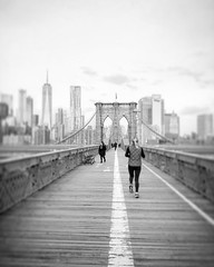 (Alexandros Gabrielsen) Tags: people city bridge sky monochrome la architecture blackandwhitephoto nycphotographer photography creative nyclife athletic sport running cityscape me brooklyn brooklynbridge path usa picture iphone travelphotography travel beauty cityscapes black white bw lifestyle life blackwhite newyork nyc road lines blackandwhite ny