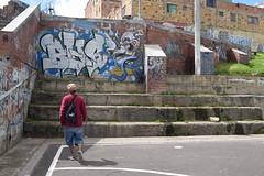 DEL BARRIO ... (Rasgal bhs) Tags: graffiti graffitibogota graffitiporn graffitibombing graffiticolombia graffitibhs bhs bogotart bogota