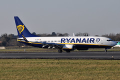 EI-GDW  B737-8AS(WL)  Ryanair (n707pm) Tags: eigdw boeing 737 b737 737800 737wl airport airline aircraft airplane dub ireland eidw collinstown ryr ryanair 25022018 dublinairport cn44814