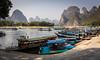 Guilin Ferries (mlhell) Tags: china ferry guilin karstmountains landscape lijangriver mountains nature river rural xingping