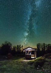 Milkyway Nallıhan Bird Paradise (aydinmustafa0605) Tags: milkyway astrophotography panorama nightscape