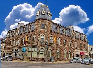 Fergus Ontario Canada ~ Marshall Block  ~ Heritage Building