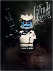 Dr. Freeze. Gotham By Gaslight (LegoKlyph) Tags: lwgo batman gotham dark knight freeze comic book dc gaslight steampunk victorian brick block mini figure art