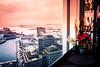 City view (Maria Eklind) Tags: pink malmöuniversitet kitchentable skybar view malmö street reflection spegling city sky buildings sweden malmölive streetsofmalmö skånelän sverige se