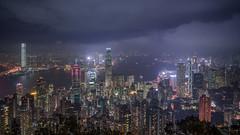 Hong Kong (Bastian.K) Tags: hongkong hong kong city skyline blue hour dusk dawn sunset sunrise sonnenuntergang sonnenaufgang zeiss loxia loxia2128 loxia2821 21mm 28 czj lights sky himmel heaven skyscraper water