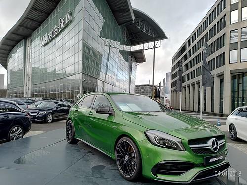 Revendedora da Mercedes, Berlim