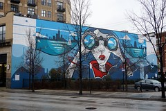 This is Lakeview (drew*in*chicago) Tags: street art artist chicago 2018 paint painter cityscape graffiti mural tag