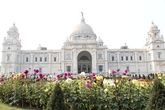 Victoria Memorial (Mr.DasPhotographer) Tags: nature beauty kolkata india west bengal flowers history place blue sky