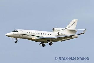 DASSAULT FALCON 7X N501PG ALPHA ONE FLIGHT SERVICES