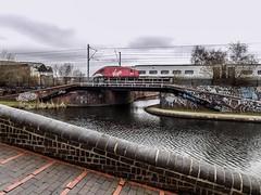 Minimalist Virgin (Jason_Hood) Tags: birmingham virgintrains pendolino canal bridge