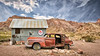 Comes A Longing (emiliopasqualephotography) Tags: nelsonnv nevada ghosttown rusty ruraldecay clouds sky desert ruins
