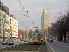 """FPS 123N """"Hipolit"""", #2144+2145, Tramwaje Warszawskie (transport131) Tags: tram tramwaj tw ztm warszawa wtp warsaw fps hcp 123n hipolit"""
