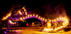 Serpent Mother (Geraint Draheim) Tags: 2018 art australia colours flaminglotusgirls light melbourne melbournemuseum night nightlights olympusomdem1ii panasonicleicadgsummilux25mmf14 photospecs serpent snake theserpentmother time whitenight victoria au