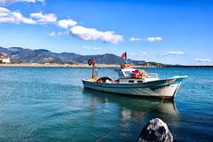 Bozyazı limanında tekne (Akcan PhotoGraphy) Tags: bozyazi mersiniçel turkey tur liman harbor tekne boat landscape manzara canoneos760d eos760d