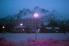 View from my window in Svolvær (Maya Beano) Tags: lofoten arctic landscape norway snow svolvaer