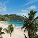 View point Anse Intendance beach Mahe Seychelles thumbnail