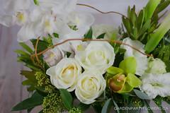 IMG_9134-4 (Garden Party Flowers) Tags: structuralwhiteandgreenarrangement calla cymbidium florist flowers vancouver whiteandgreenarrangement