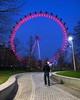 The Wheel And I (JH Images.co.uk) Tags: london eye night portrait me wheel ferris ferriswheel hdr dri path architecture twilight