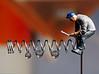 Tiny people - Making of Tropfen Spielerei (J.Weyerhäuser) Tags: studio tropfen makingof preiser tinypeople h0 handwerker feder nadel spring needle drops water