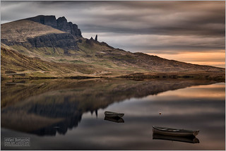 LOCH FADA AND OLD MAN OF STORR