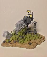 Mission 13.1 (Elven Ranger) Tags: lego star wars clone trooper atrt