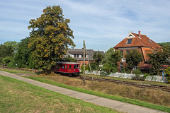 Mover DT 0504 AVL b (Wolfgang Schrade) Tags: dt0504 avl arbeitsgemeinschaftverkehrsfreundelüneburg dieseltriebwagen mover winsenmarschacht museumszug museumsbahn