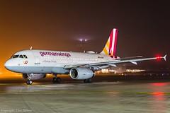Germanwings D-AGWE HAJ at Night (U. Heinze) Tags: aircraft airlines airways flugzeug nikon night haj hannoverlangenhagenairporthaj eddv planespotting plane