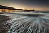 Brighton Pier Sunrise (E_W_Photo) Tags: brighton sussex sunrise uk seafront sea wave pebble lee leefilters sigma 1020mm canon 80d pier seaside palacepier