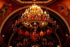 Sts. Cyril and Methodius The Grand Chandelier (Jay Costello) Tags: stcyrilandmethodiusukrainiancatholicchurch stscyrilandmethodius ukrainian catholic church god worship religion stcatharines ontario canada on chandelier red lights