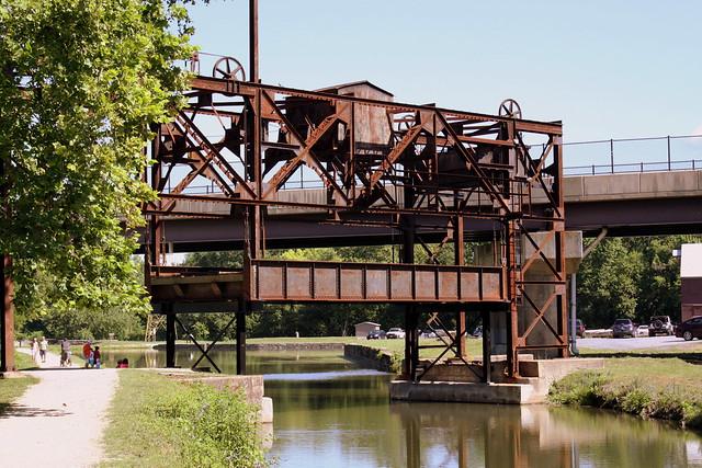 Railroad Lift Bridge over C&O Canal - Williamsport, MD