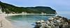 San Michele e Sassi Neri (vincenzo gabbanelli) Tags: conero sirolo spiaggia michele sassi neri parco adriatico mare ancona marche