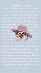 Joanne Hat 🌷 xo (hausevongaga) Tags: flowers aesthetic wallpaper wallpapers joanne gaga ladygaga