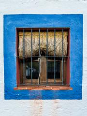Spain - Seville - Cazalla de la Sierra - Casa rural Paraiso del Hueznar (Marcial Bernabeu) Tags: marcial bernabeu bernabéu spain spanish españa andalusia andalusian andalucia andalucía arquitectura andaluza architecture window ventana blue azul blanco blanca white seville sevilla sierra norte via vía verde casa rural paraiso paraíso hueznar huéznar cazalla alojamiento