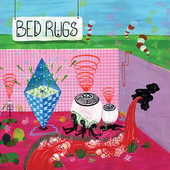 2013_Bed_Rugs_Rapids_2013 (Marc Wathieu) Tags: rock pop vinyl cover record sleeve music belgium coverart belgique pochette cd indie artwork vinylcover sleevedesign