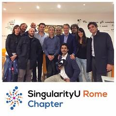 SingularityU Rome Chapter - Dinner (8)