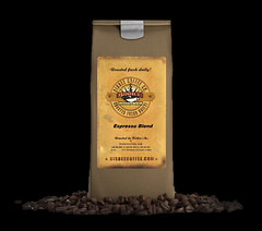 Espresso Blend (bisbee coffee) Tags: packet merchandise nopeople scented packaging cappuccino packing ingredient paper empty ideas business closeup bean seed design breakfast food coffeedrink drink bag boxcontainer threedimensional modelobject